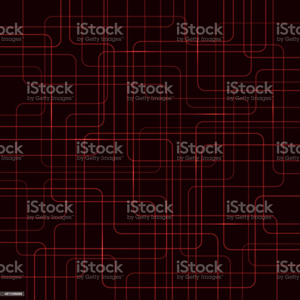 Circuit Electric Board abstract background vector art illustration