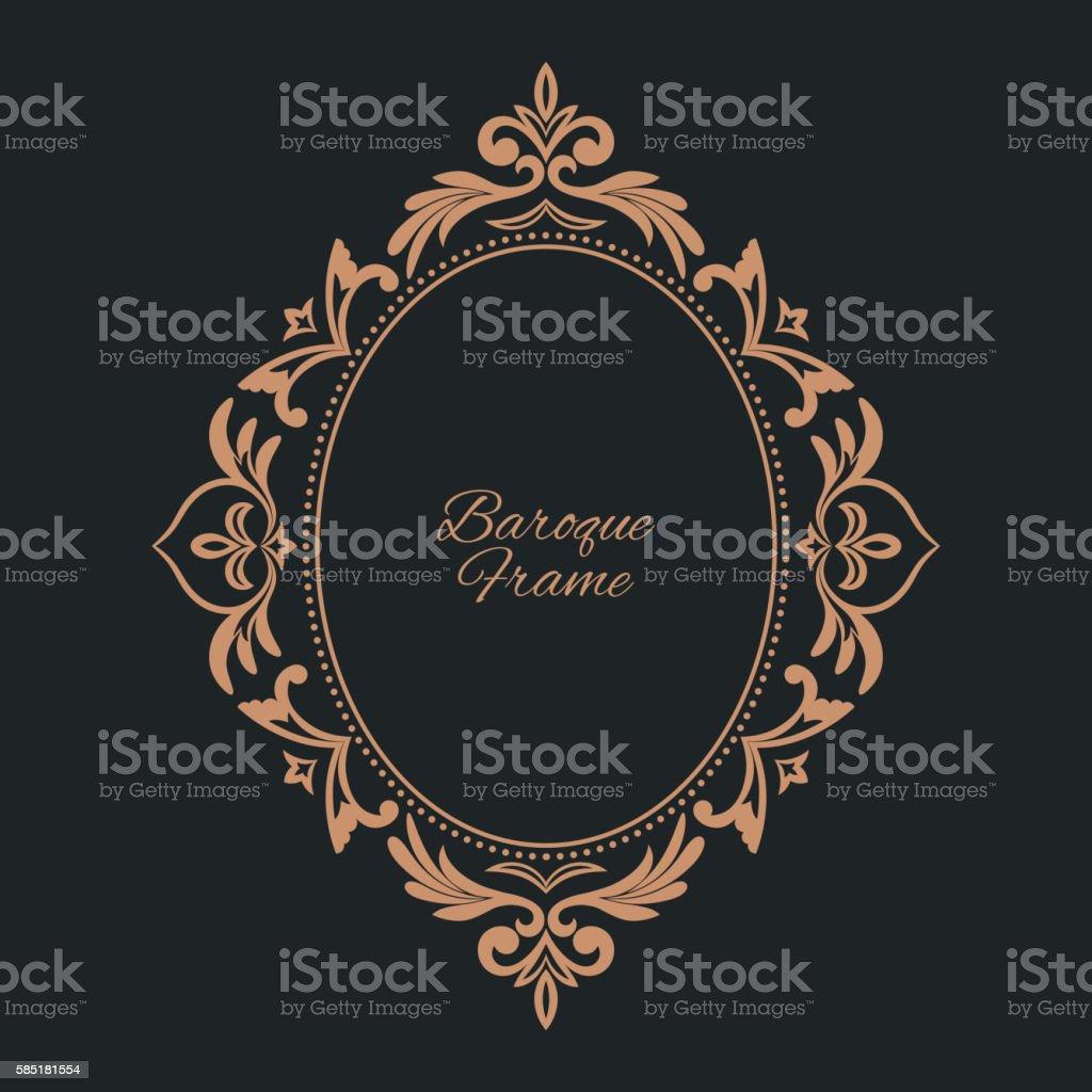 Circular pattern vector art illustration