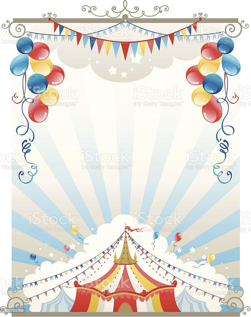 Circus Background Stock Vector Art 120724769 Istock
