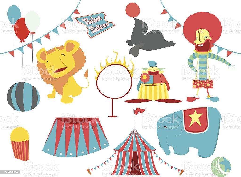 circus clip art royalty-free stock vector art