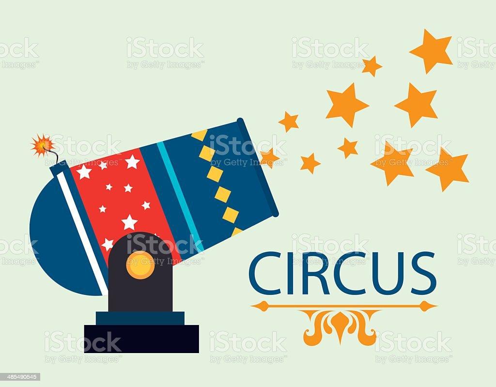 Circus design vector art illustration
