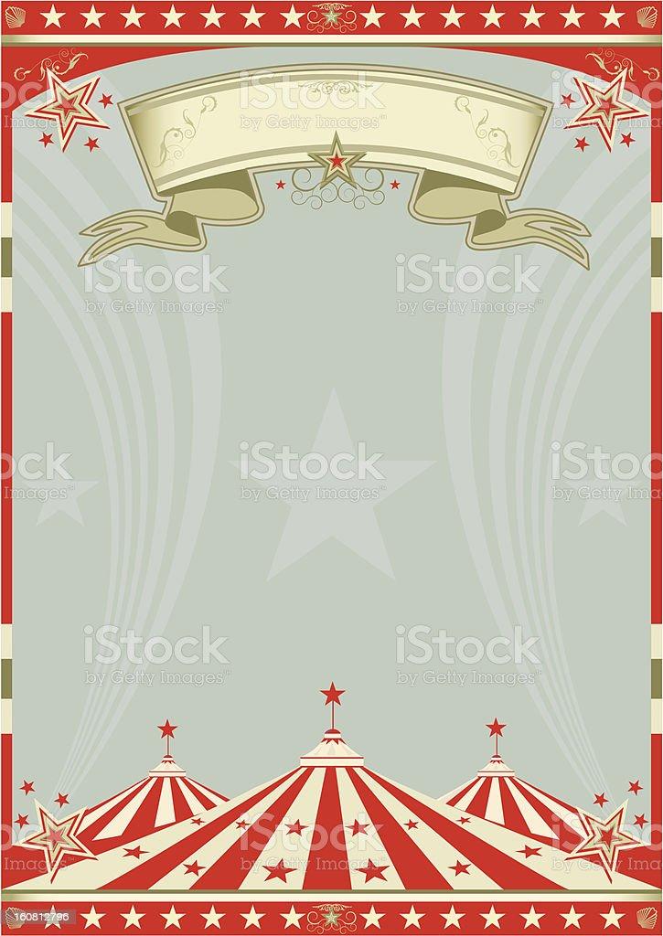 Circus retro big top stock photo