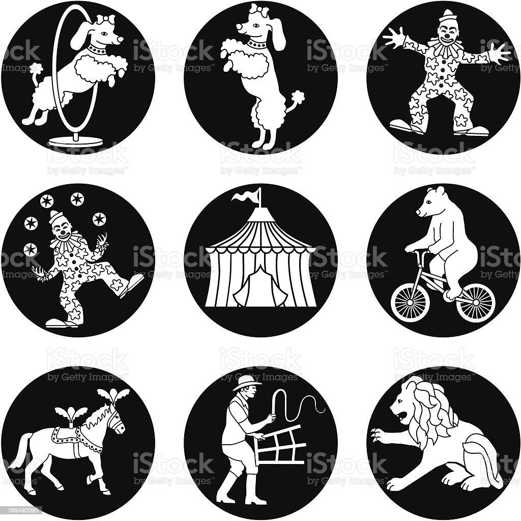 circus royalty-free stock vector art