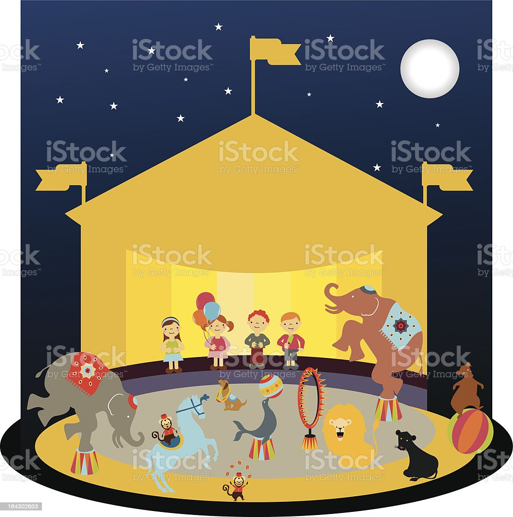 CircuScene royalty-free stock vector art