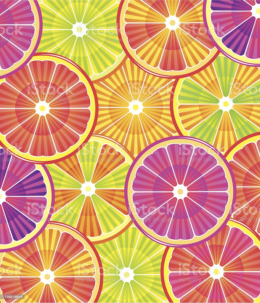 citrus background royalty-free stock vector art