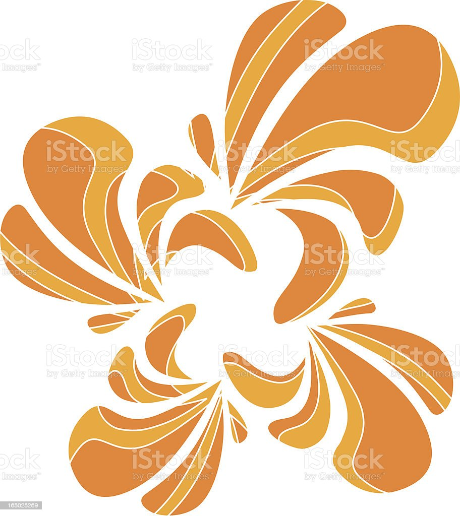 Citrus Splash royalty-free stock vector art