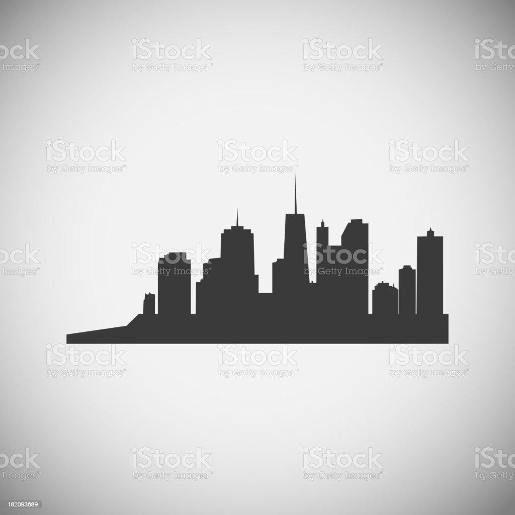 City application icons vector illustration royalty-free stock vector art