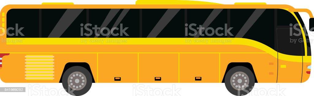 City bus vector illustration. vector art illustration