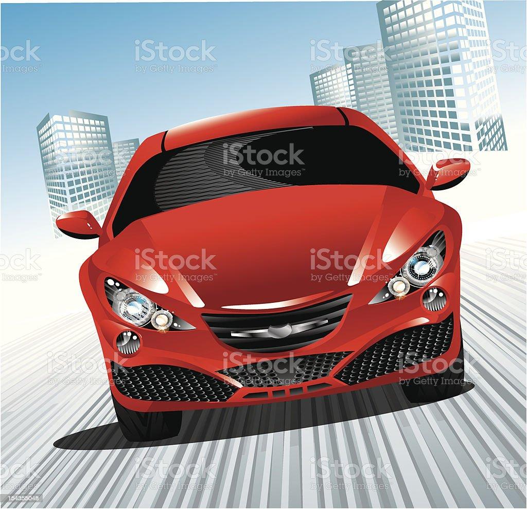 city car royalty-free stock vector art