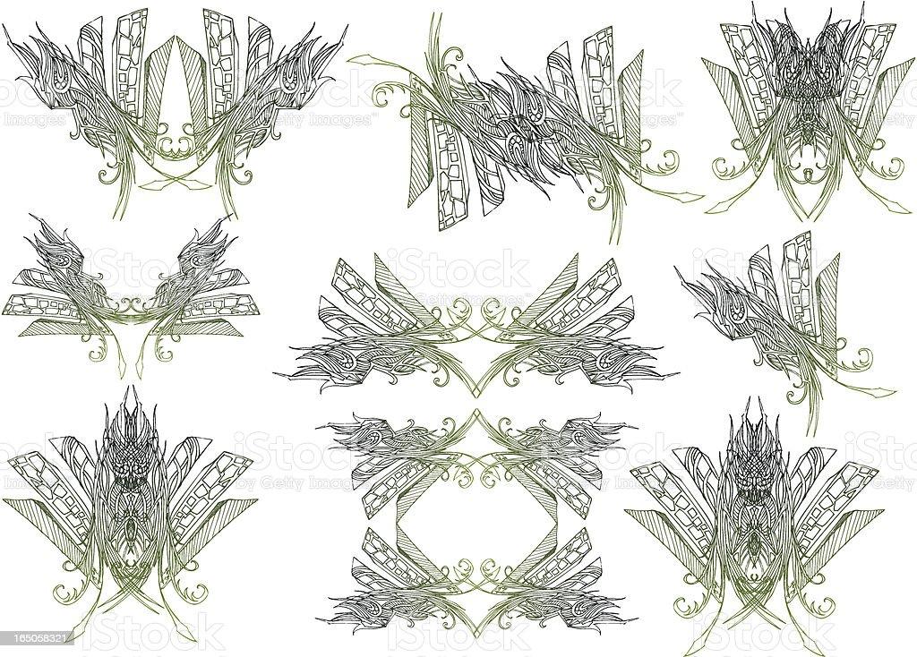 Stadt-Elemente Lizenzfreies vektor illustration