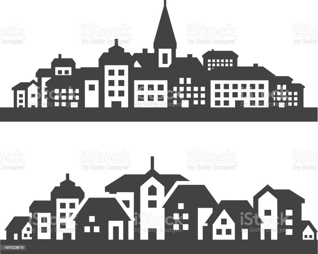 HD wallpapers city symbols vector