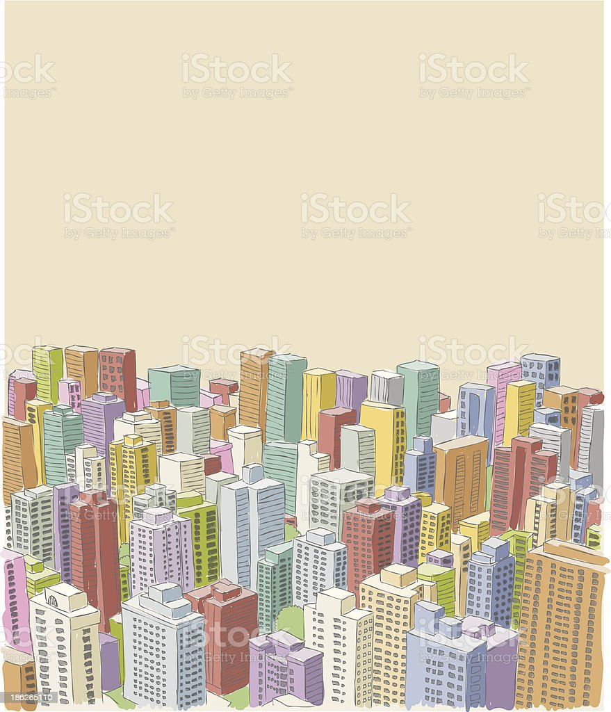 city landscape royalty-free stock vector art