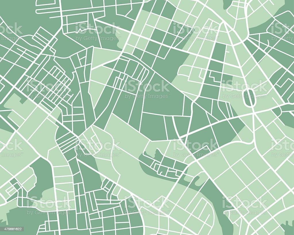 City map seamless vector art illustration