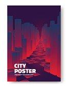 City modern poster