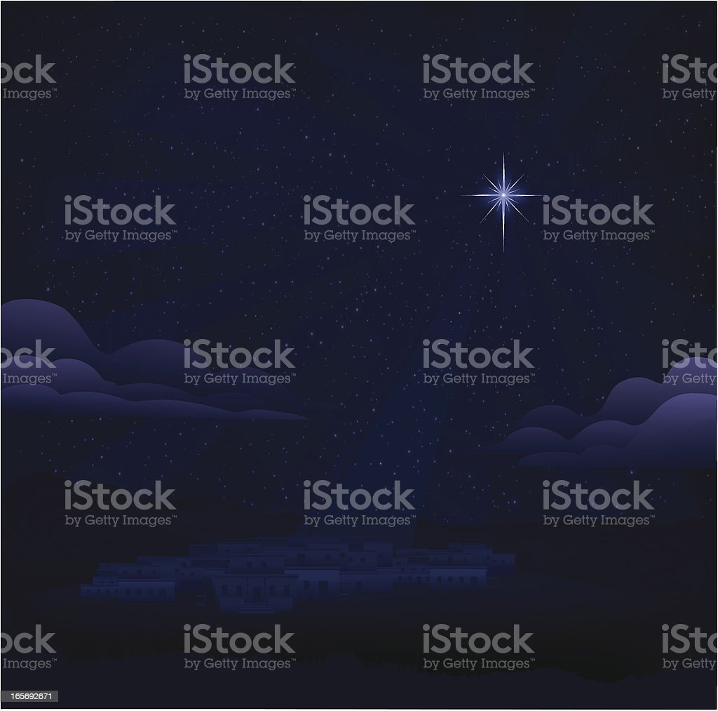 City of Bethlehem royalty-free stock vector art