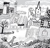 City of Norwich in Norfolk