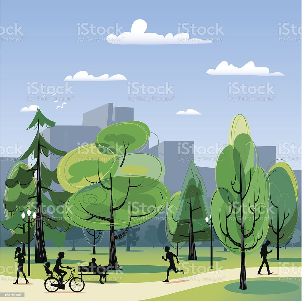 city park vector - photo #8