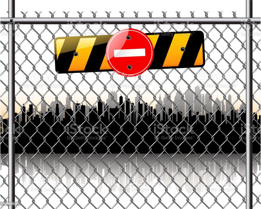 city silhouette vector art illustration