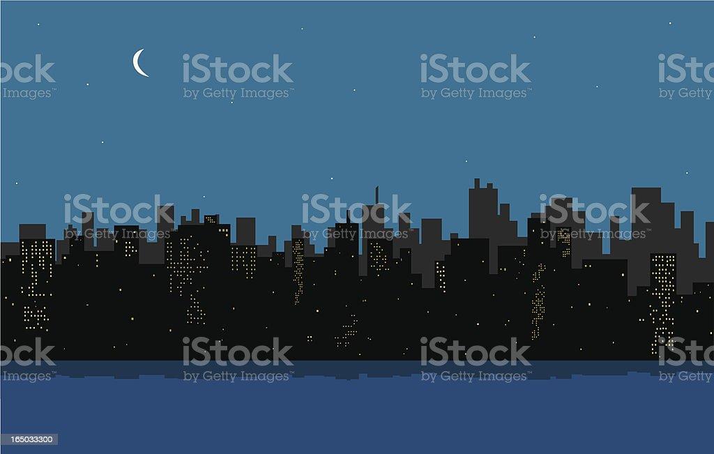 City Skyline royalty-free stock vector art