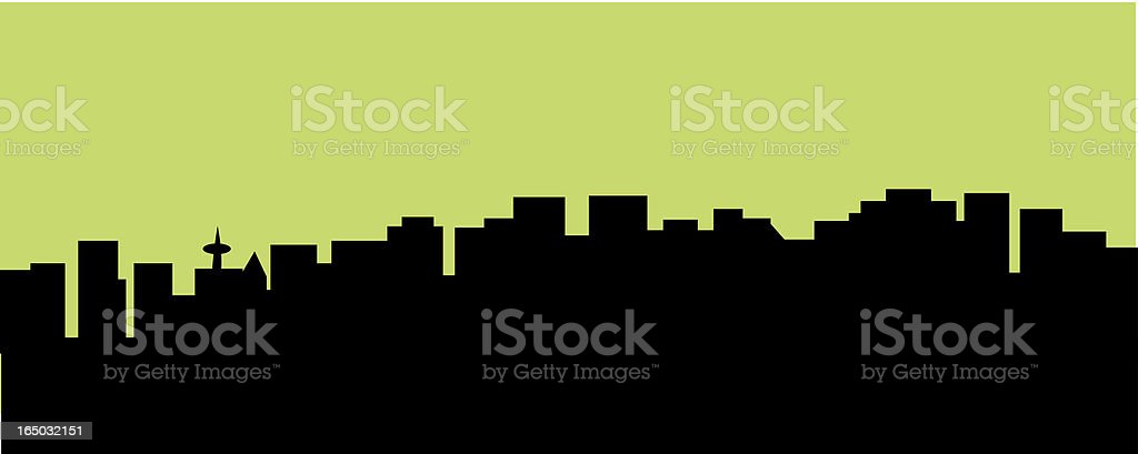 city skyscpe royalty-free stock vector art