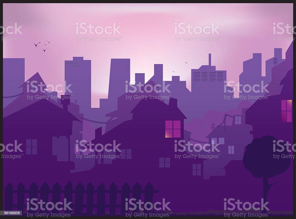 city royalty-free stock vector art