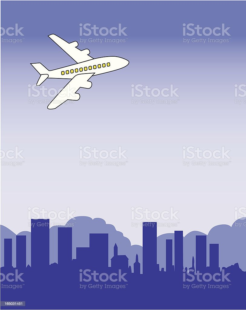 city view royalty-free stock vector art