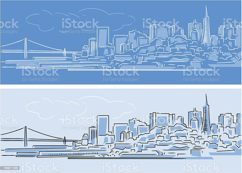 Cityscape royalty-free stock vector art
