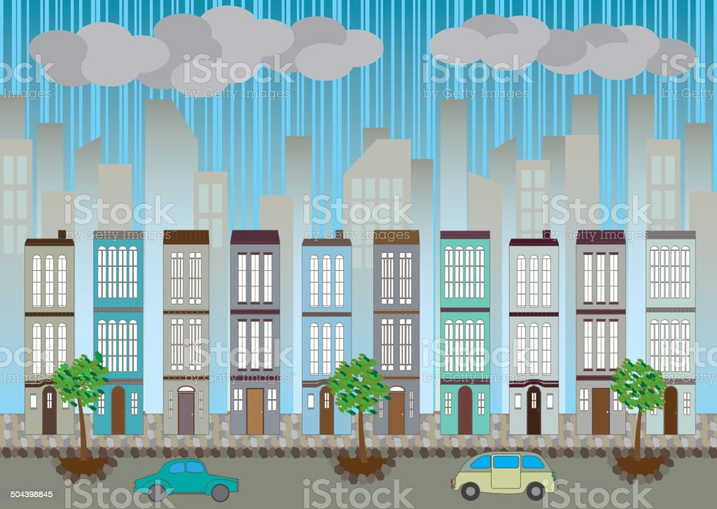 cityscape royalty-free stock vector art