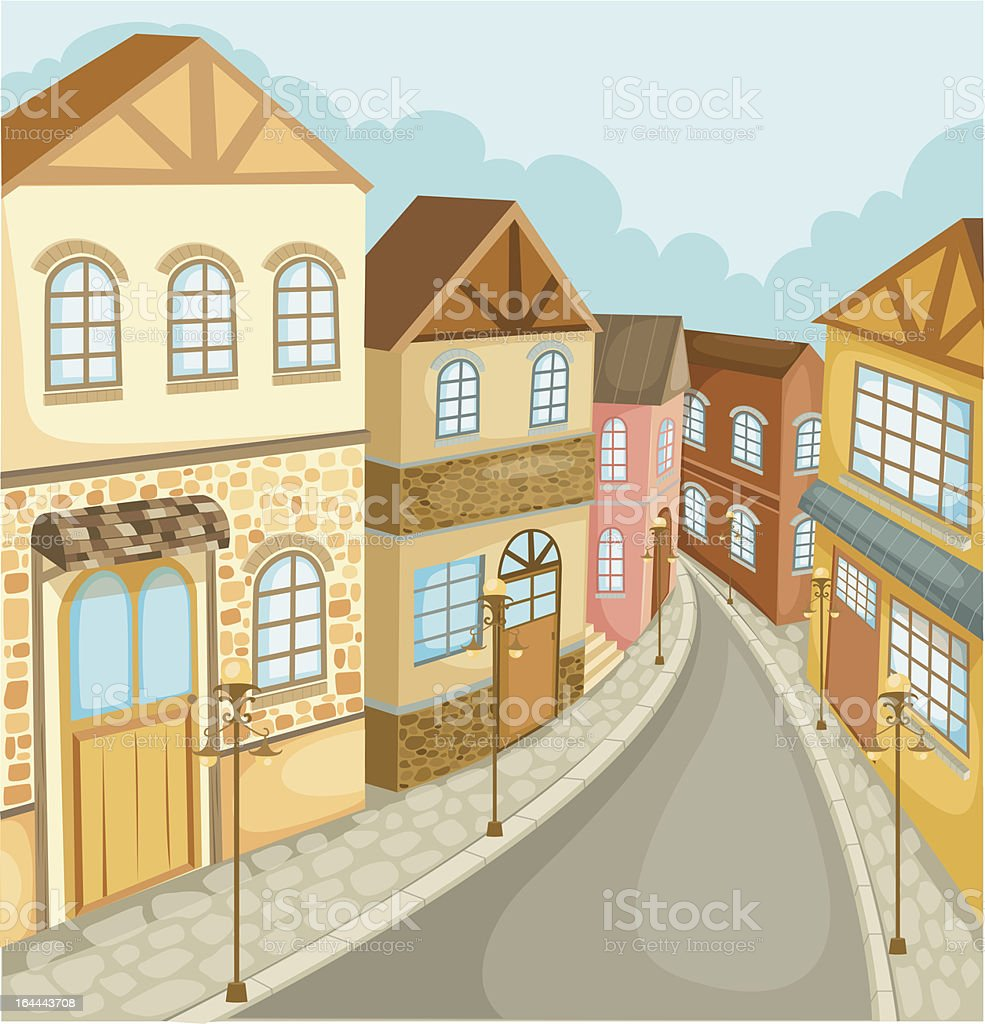 Cityscape vector royalty-free stock vector art