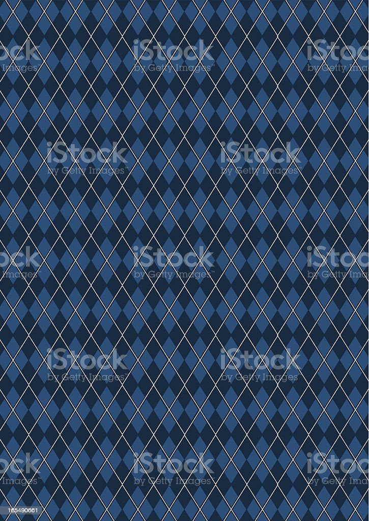 Classic Argyle Fashion Textile Pattern vector art illustration
