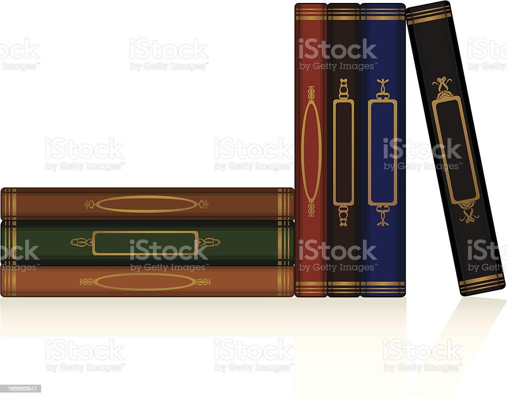Klassische Bücher Set Lizenzfreies vektor illustration
