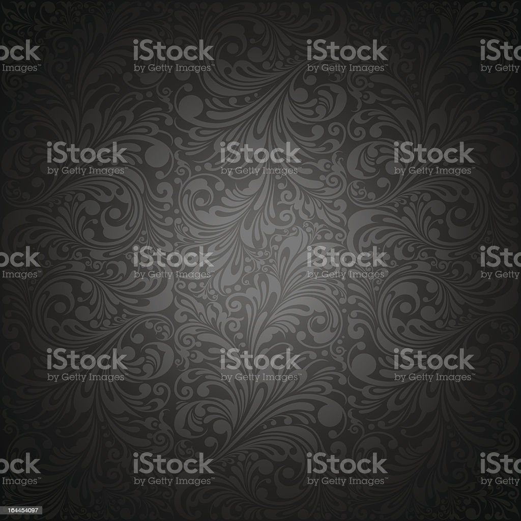Classic Ornament Wallpaper Background royalty-free stock vector art