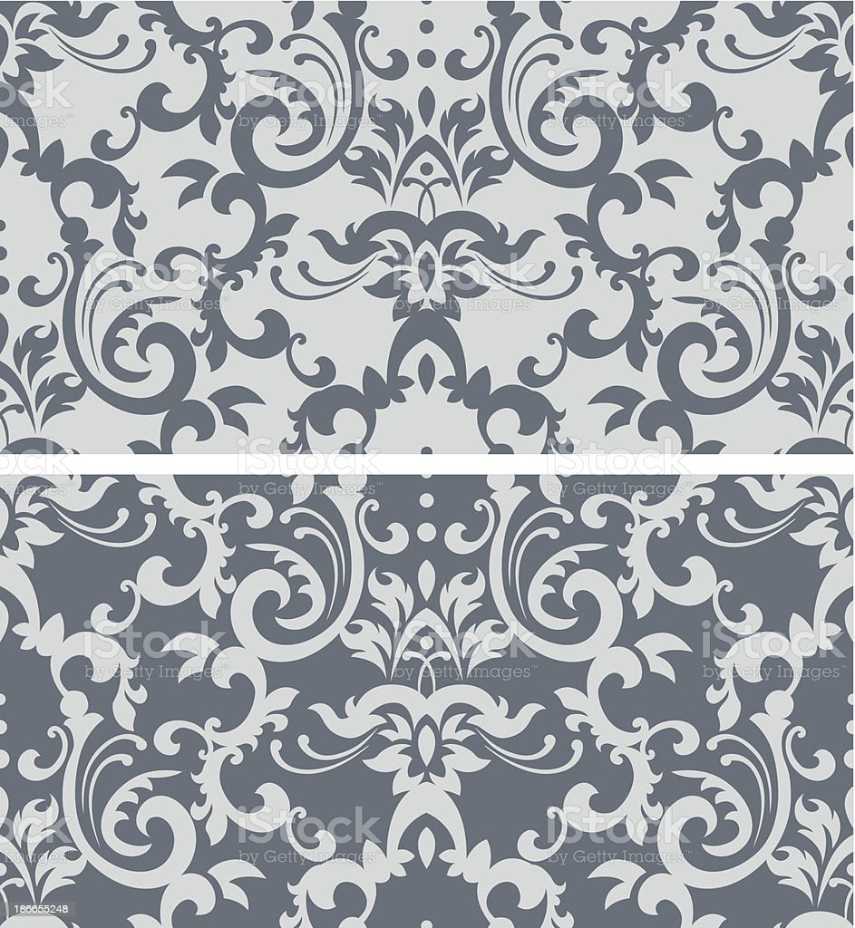 Classic wallpaper royalty-free stock vector art