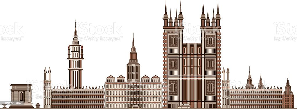 classical buildings royalty-free stock vector art