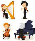 Classical music string