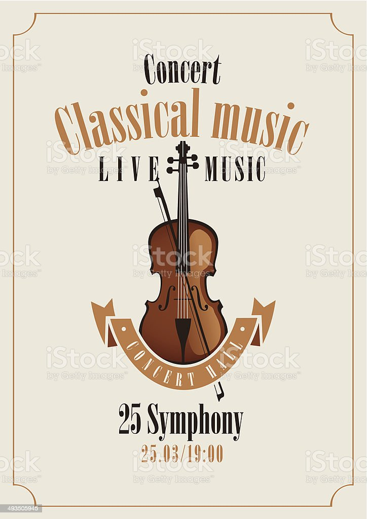 classical music royalty-free stock vector art