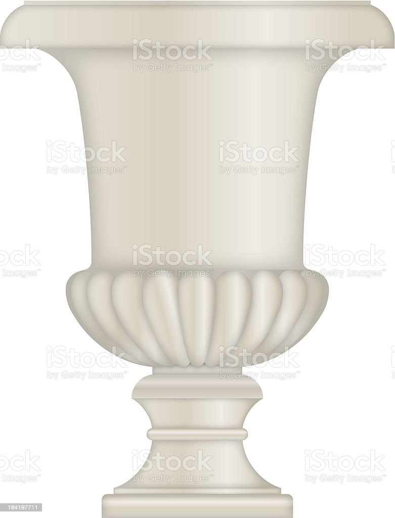 Classical Urn royalty-free stock vector art