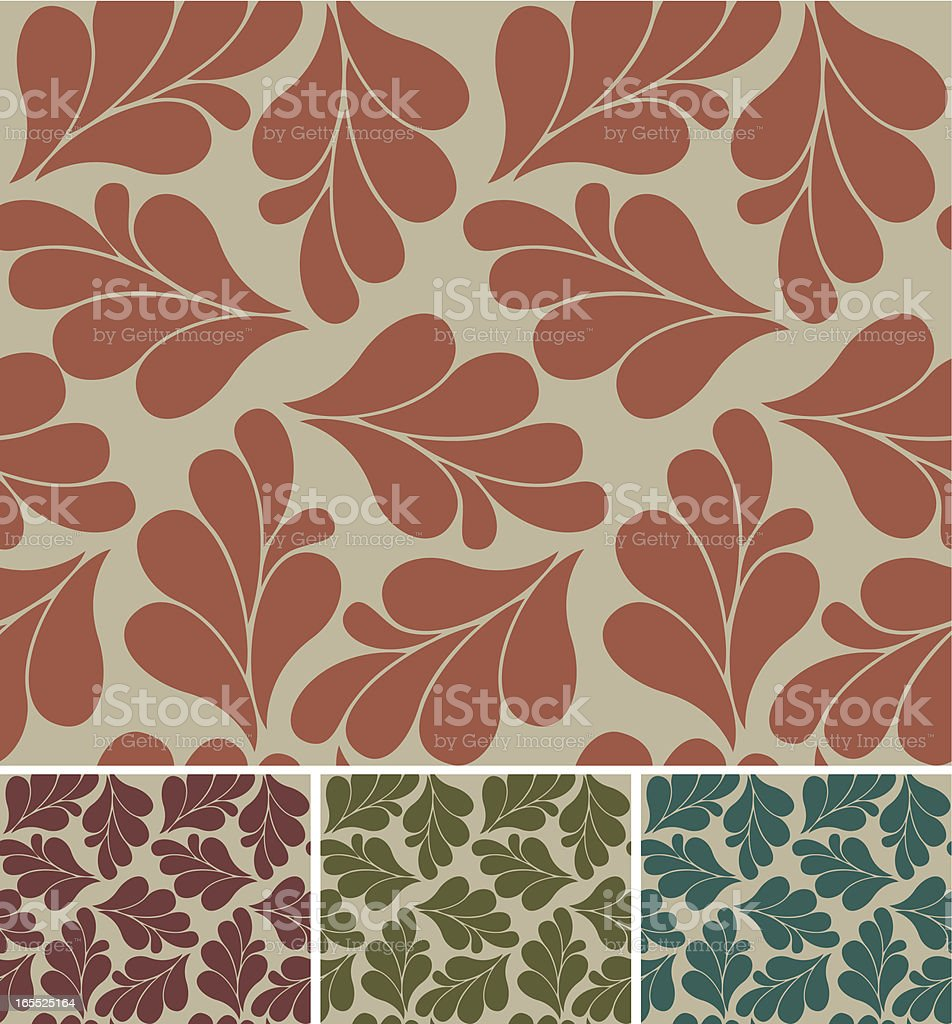 Classical wallpapers royalty-free stock vector art