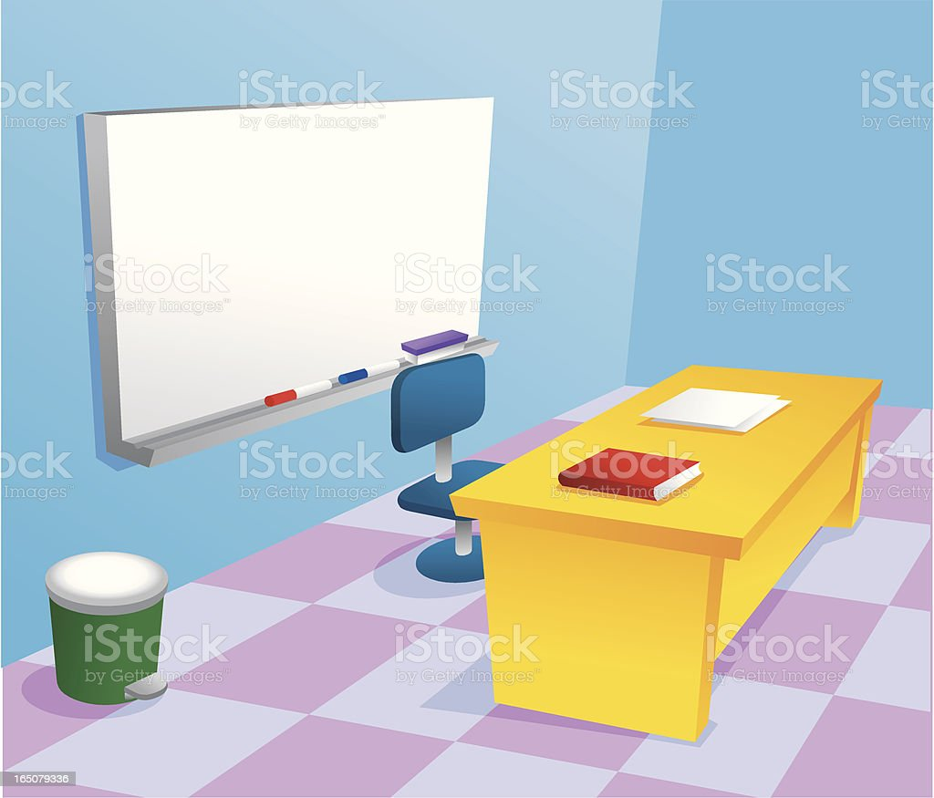 Classroom royalty-free stock vector art