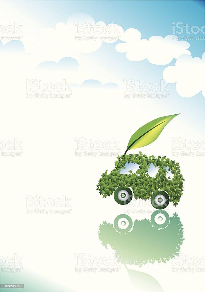 Clean car image vector art illustration