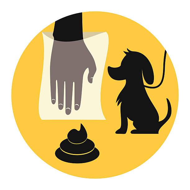 Dog Poop Clip Art, Vector Images & Illustrations - iStock