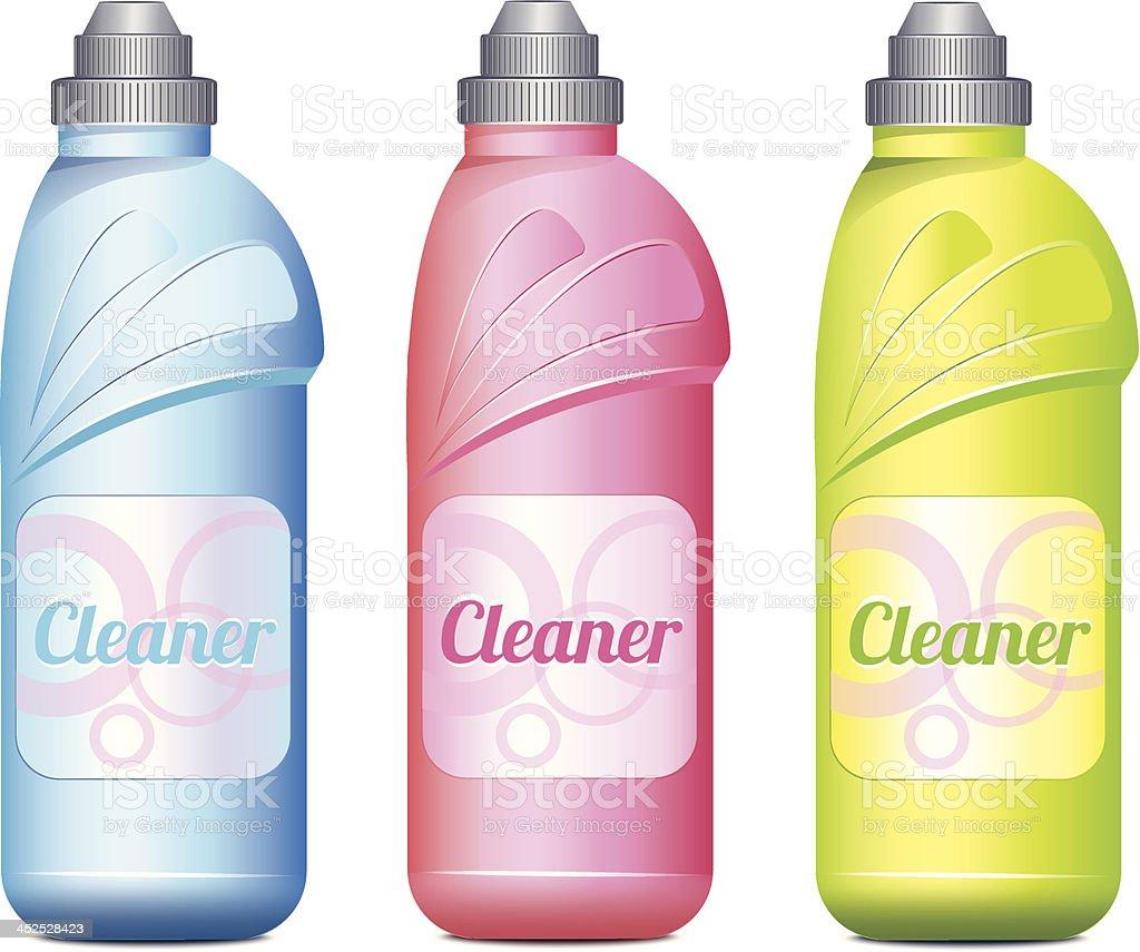 Cleaner Set vector art illustration