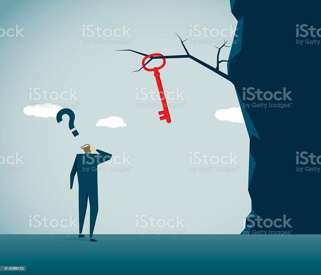 Cliff vector art illustration