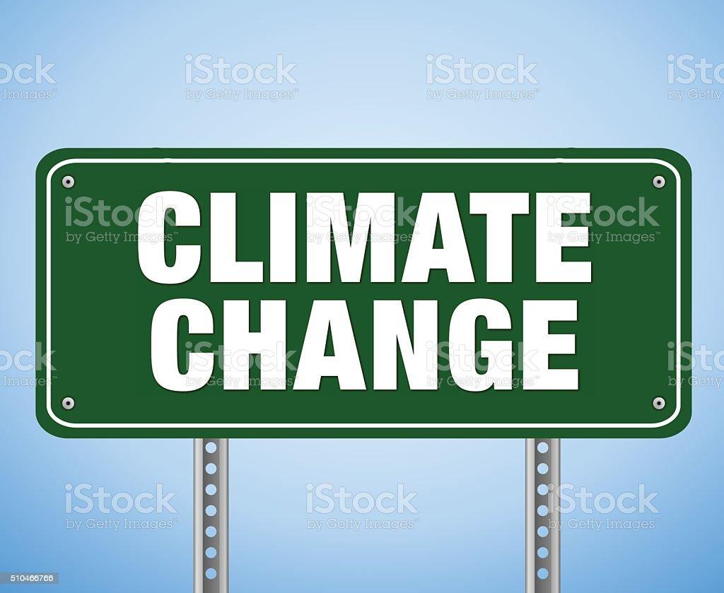 Climate Change vector art illustration