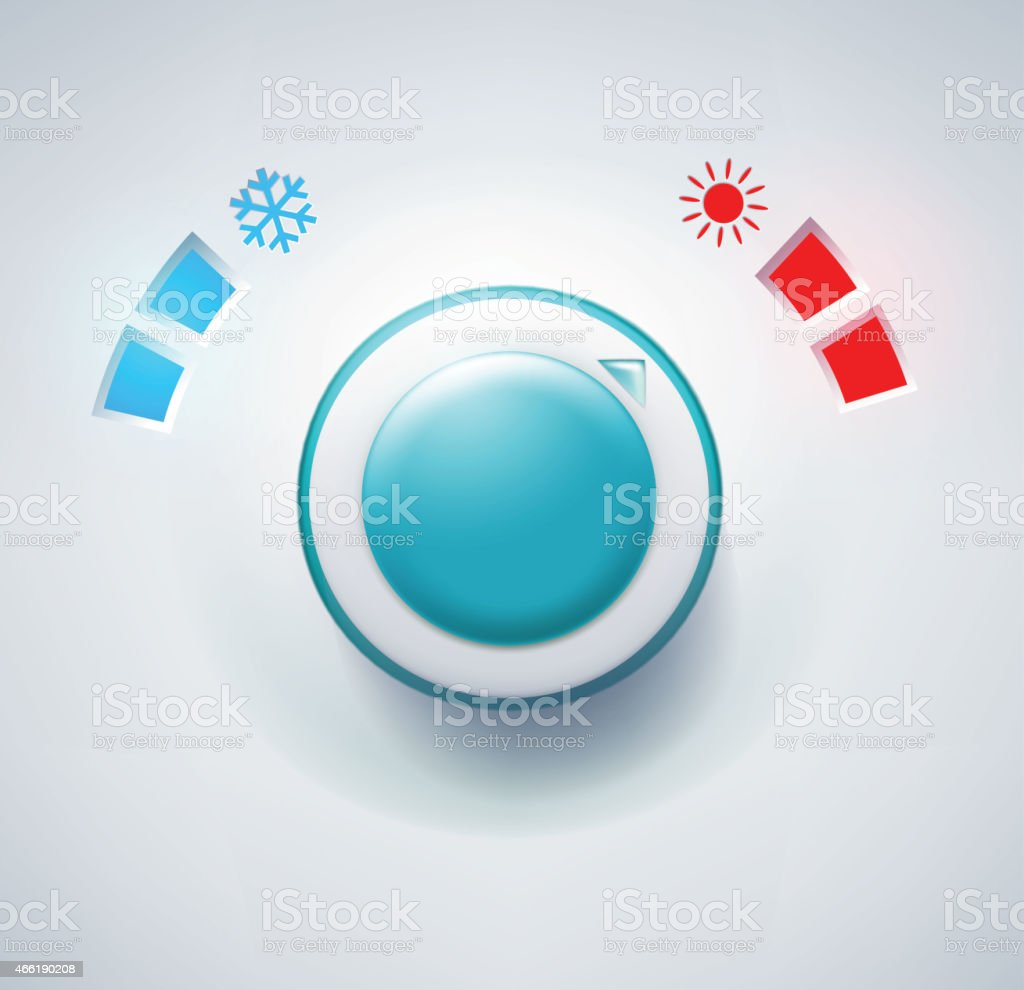 climate control vector art illustration