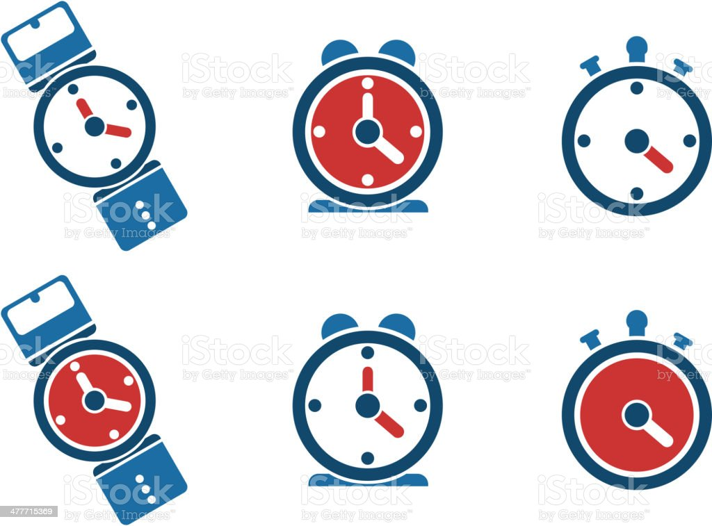 Clock icon, watch, timer. royalty-free stock vector art