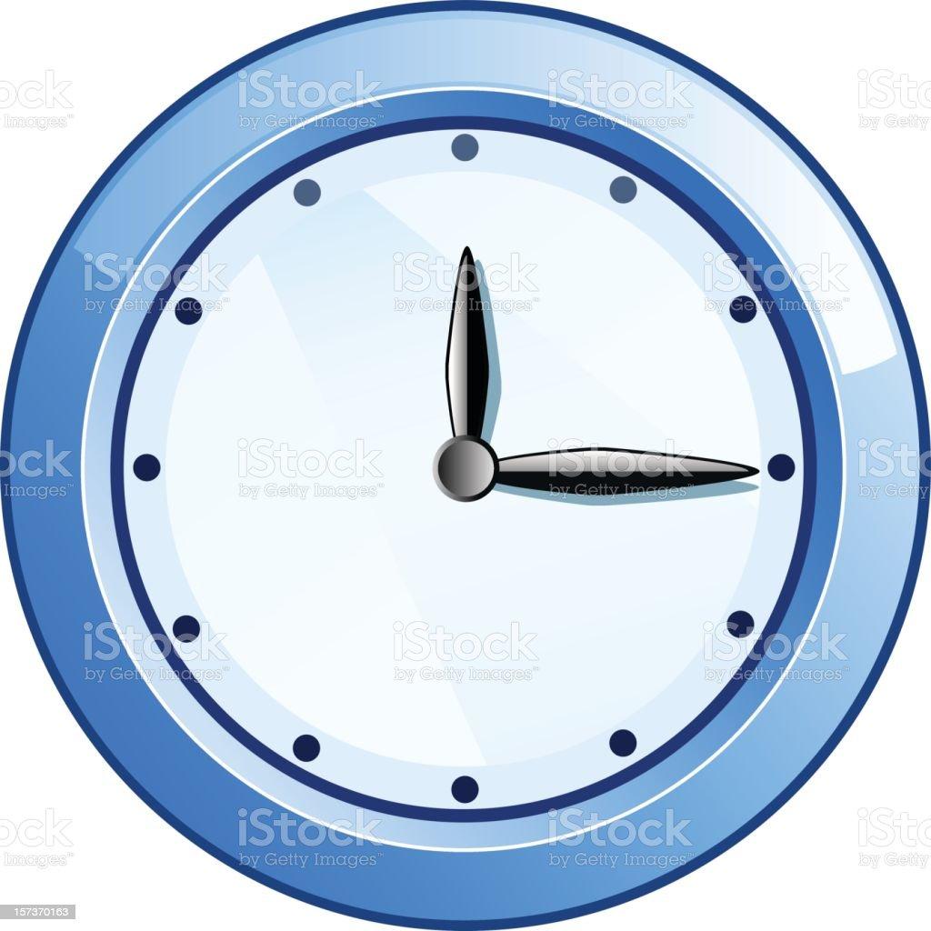 Clock royalty-free stock vector art