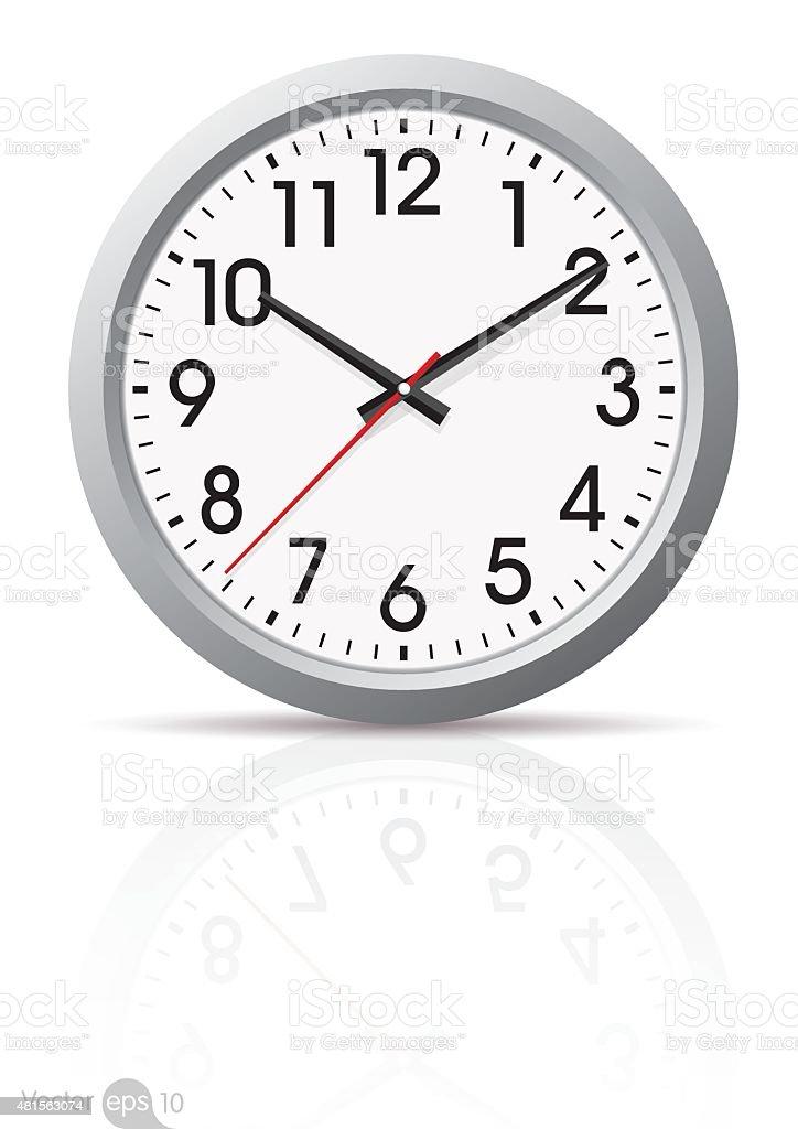 clock vector vector art illustration
