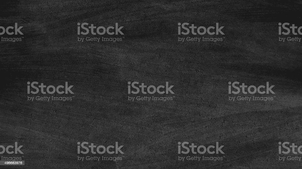 Close up of clean school blackboard vector art illustration