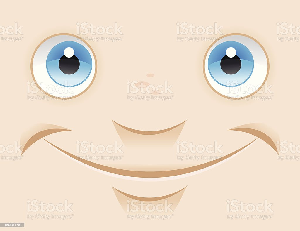 Close Up Smile stock photo